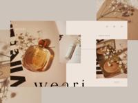 Weari — Landing Page