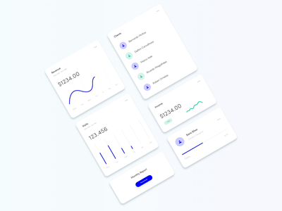 Animated Analytics Dashboard Cards ui ux ui animation dashboard design web app dashboard app dashboard concept shop manager software crm animated ui cards ui cards design cards charts design chart analytics dashboard analytics chart analytics adobe xd