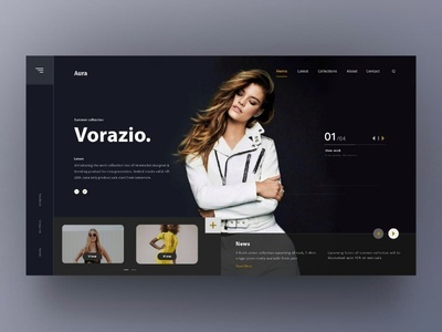 E-commerce Shopping Site Concept
