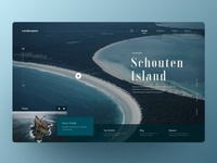 Travelling landing page