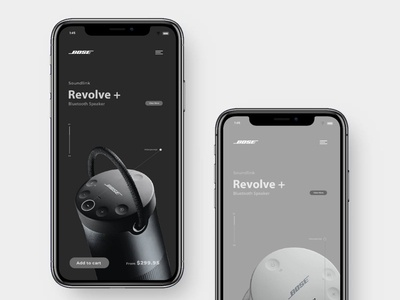 Re-design App interfere Concept for Bose