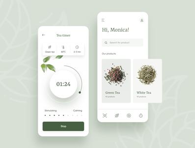 Tea mobile app