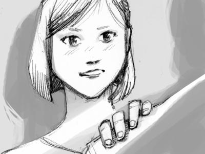 Storyboarding 001A storyboard pencil drawing