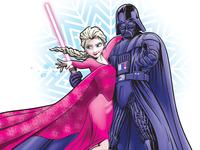 Elsa N Vader Dribble
