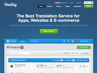 OneSky - New Landing Page
