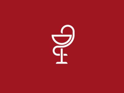 French Paradox bowl of hygieia wine logo