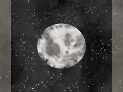 Mooon moon nature sky illustrator digital art drawing illustration