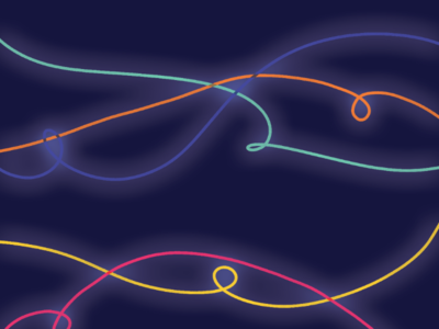 Neon sketches colors illustrator digital art drawing illustration
