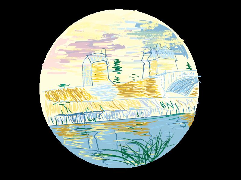 Van Gogh icon 2 icon design icons doodle illustrator illustration painting van gogh art history art