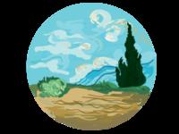 Van Gogh Icon 4
