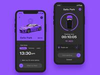 Car practice interface