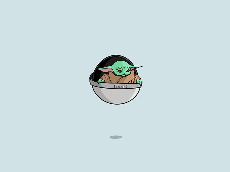 Baby Yoda Portrait