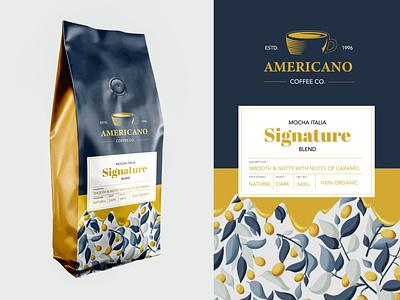 Coffe package print design vectors sketch ui logo logotype branding illustration brand brand identity typogaphy print clean flat