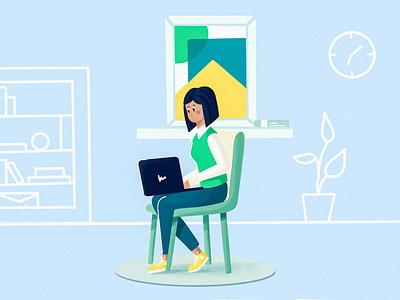 Web browsing branding concept web minimal art 2d design drawing vector ui clean flat character illustration