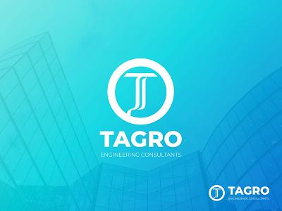 TAGRO Engineering Consultants Logo portfolio typogaphy identity brand identity engineers engineer vector icon brand design branding brand logotype logos logo design