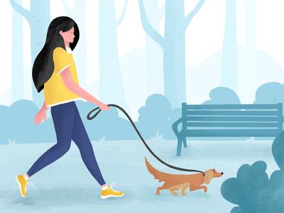 Sunday walks