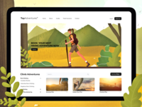 Top Aventures Webpage