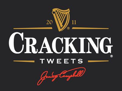 Cracking Tweets cracking tweets twitter guinness logo cooperplate century bingham
