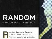 Random Tweet is Random