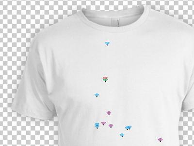 Belfast Wi-Fi T-shirt belfi t shirt wifi belfast northern ireland