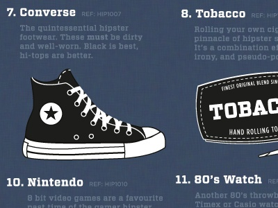 The Hipster Owner's Manual vitesse tungsten hipster converse tobacco