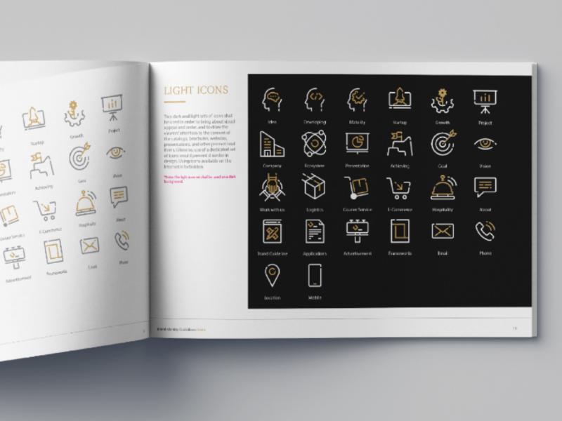 Icon set design for Fakher Holding startup icon management icon logistics icon icon inspiration line icon icon pack icon set icon design icon
