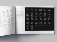 Icon set design for Fakher Holding