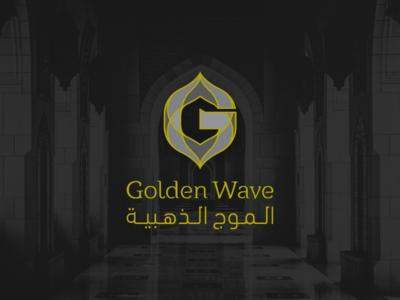 Golden Wave - Logo design