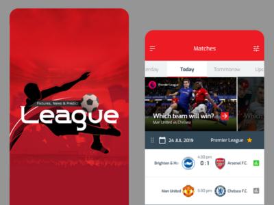 Ui design for League app