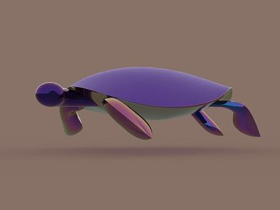 Underwater character design 3dmodel keyshot rendered moi3d 3dmodeling underwater tortilla cute animal 3d artist 3d art 3d design character illustration