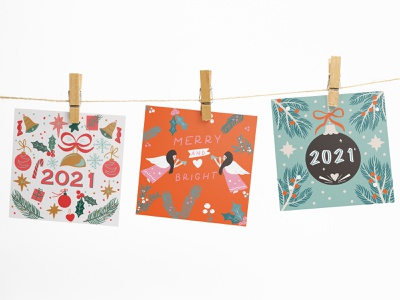 new year greeting card pattern design folk art flat illustration vector graphic merry xmas design vector illustration 2021 christmas card greeting card new year