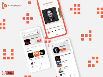 Google Play Music concept