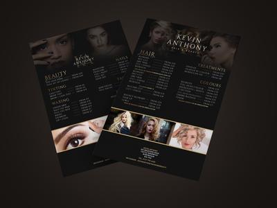 Elegant Beauty Price List
