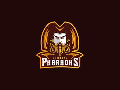 Pharaoh Mascot Logo