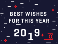 Best wishes for this year 2019!