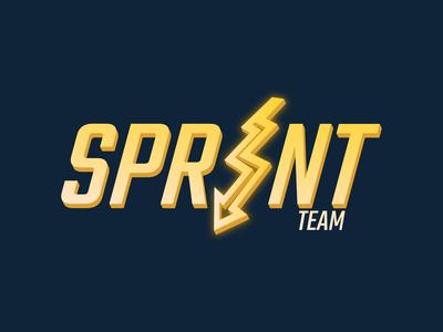 Team Sprint's logo