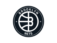 Brooklyn Nets logo.