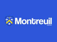Montreuil City's logo.