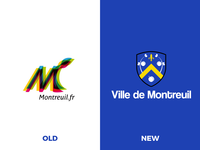 Montreuil City's logo.
