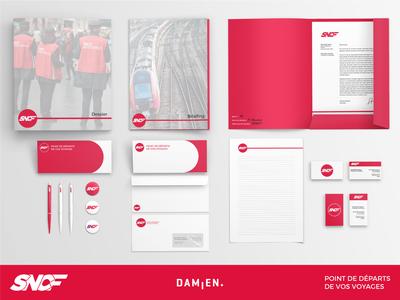 SNCF's logo red sncf branding branding concept firm graphicdesign international train france logo redesign railway branding company
