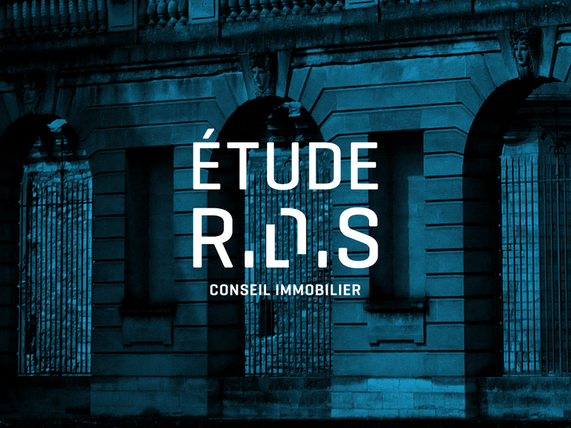 Étude R.D.S ! typography logo real estate graphicdesign redesign branding architecture agency