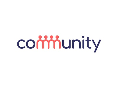 Community dribbbleshot dribbble communities adobe illustrator illustrator typography logo logotype design logotype