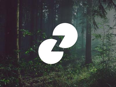 Zen letter z symbol logodesigner dribbbleshot nature zen logodesign vector logo adobe illustrator