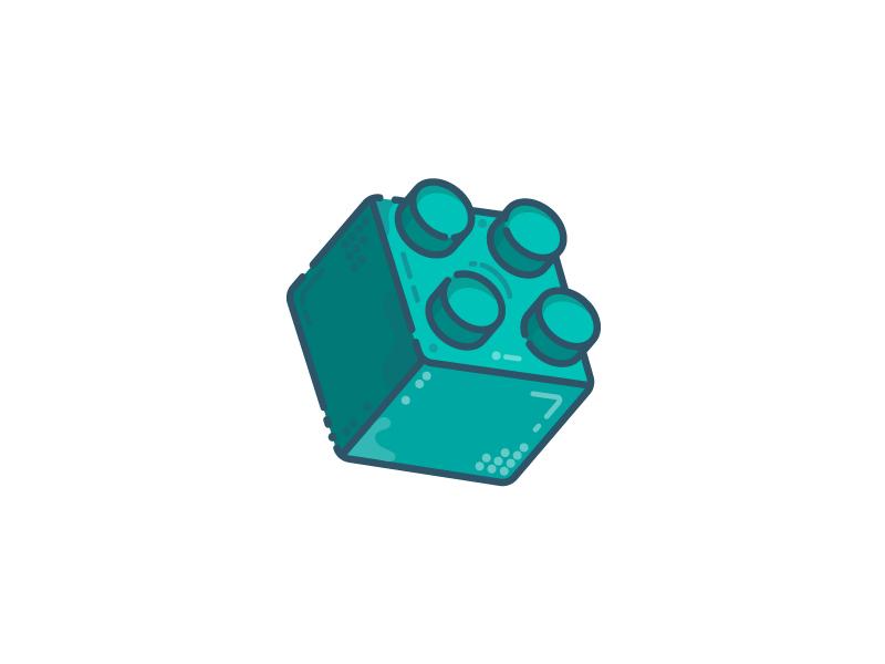 Lego stock (28/30) brick toy lego illustration flatdesign icon vector adobe illustrator logodesigner dribbbleshot