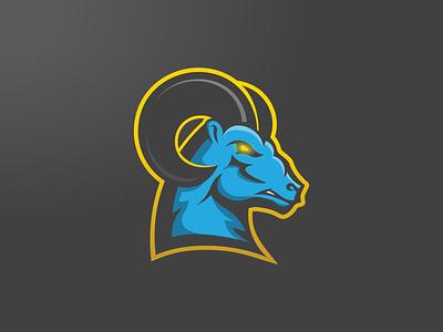 Ram E-Sport Logo rams ram gaming dynamic logo dynamic esportlogo mascot logo icon sport logos branding vector purple logo illustration design gradient esports esport mascot