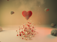 Relationship Conflict  | Abstract Art | Cinema 4d