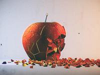 Broken Apple | Cinema 4d