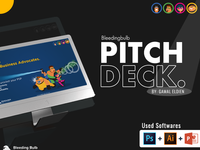 Pitchdeck Design and character design