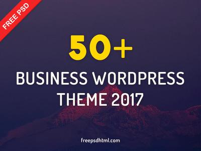 50+ Business WordPress Theme 2017 freebies layout 2018 theme wordpress business