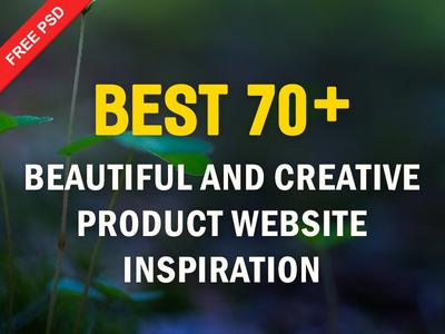 70+ Creative Product Website Designs Inspiration ux ui resources inspiration template website product creative